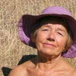 Old sunbather